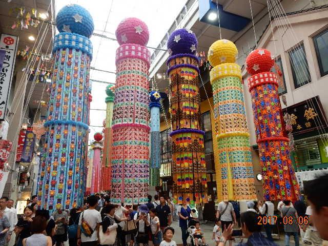 仙台七夕祭り2017